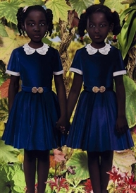 Artwork by Ruud van Empel, World #31, Made of Cibachrome print mounted on plexiglass
