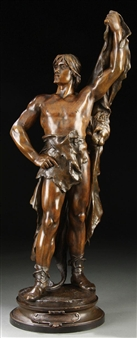 Jeunesse D'Hercule – The Young Hercules By Eugène Marioton