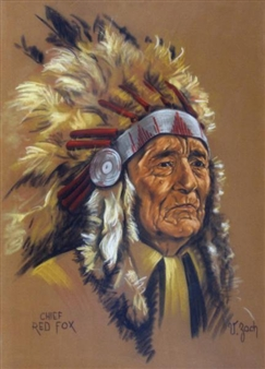 CHIEF RED FOX By Vilem Zach