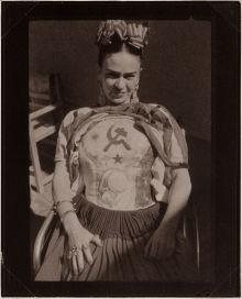 Artwork by Antonio Kahlo, Frida Kahlo, Made of Platinum