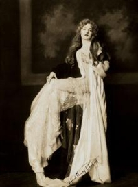 Artwork by Alfred Cheney Johnston, Katherine Moylan, Ziegfeld, Made of Vintage gelatin silver