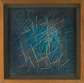 Oskar Fischinger, Untitled (Dancing Sticks)