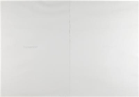 Artwork by Claudio Parmiggiani, Untitled, (2 parts), Made of ink, stamp on paper