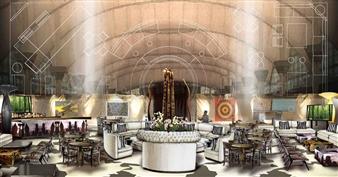 Juan Montoya. Art Miami VIP lounge.