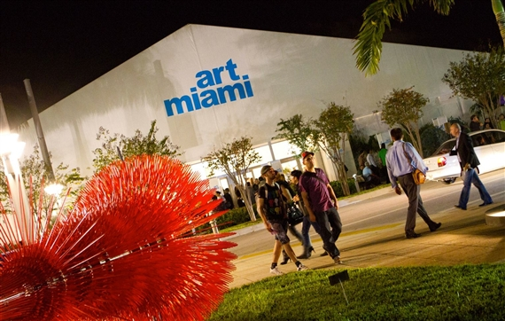 Outside Art Miami 2010