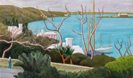 Artwork by John Goodwin Lyman, Warwick, North Shore (Bermuda), Made of oil on canvas