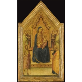 Bernardo Daddi, The Madonna and Child