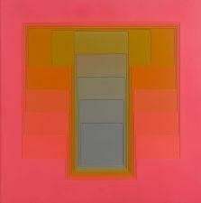 Artwork by Karl Gerstner, SANS TITRE, Made of PVC on panel