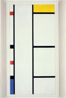 Composizione No.III Bianco-Giallo, 1935-42 di Piet Mondrian