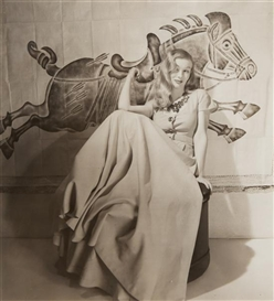 Artwork by Louise Dahl-Wolfe, Veronica Lake, Made of gelatin silver print