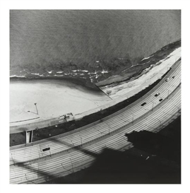 Artwork by Luis Medina, View from 1000 Lake Shore Drive, Made of gelatin silver print