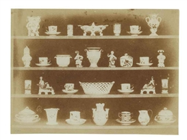 Artwork by William Henry Fox Talbot, Articles of China, Made of calotype print