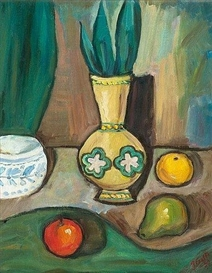 Artwork by Ilmari Aalto, Still Life, Made of Oil on canvas