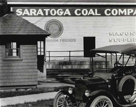 Artwork by Ralph Steiner, Saratoga Coal Company, Made of gelatin silver print