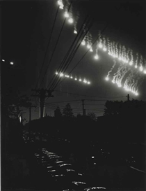 Artwork by Otto Hagel, First Blackout - Preparedness Day, for 'Life', Made of gelatin silver print