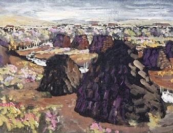 'Landscape' By Patric Stevenson