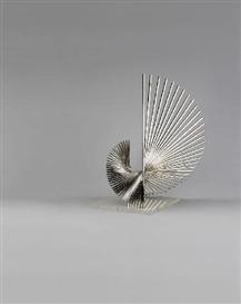 Artwork by Andreu Alfaro, GENERATRIU 3, Made of Stainless steel