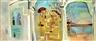 Nahum Gutman, Triptych: Tiberias