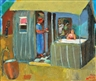 Nahum Gutman, The Kiosk in Neva Sha'anan