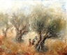 Reuven Rubin, The Way to Safed