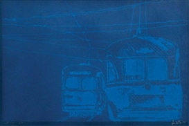 Charles Pachter, Evening Car