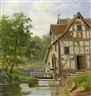 Fritz Ebel, Small watermill