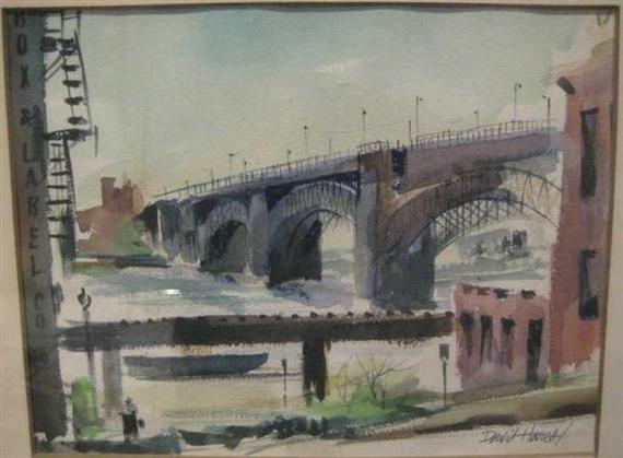 Eads Bridge - David P. Hares