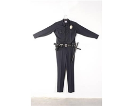 Artwork by Chris Burden, L.A.P.D. Uniform, Made of fabric, leather, wood, metal and plastic