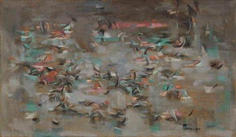 Birds By Norman Lewis ,1950