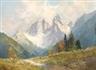 Hans Steiner, Alpine landscape