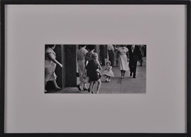 "Artwork by Esther Bubley, ""ROCKEFELLER CENTER"" (PARTY DRESS), Made of Gelatin silver print"