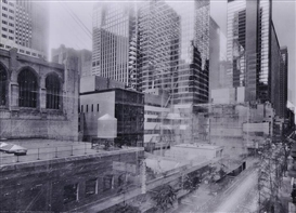 Artwork by Michael Wesely, 4 works: THE MUSEUM OF MODERN ART, NYC, Made of photographs