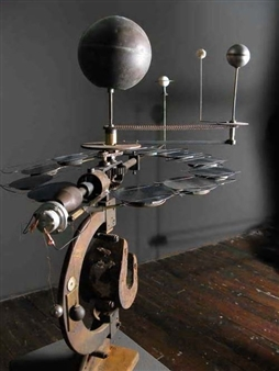 Mark Zirpel (N.Y./US)represented by Michael Klein Gallery – Orrery#4 (2009)
