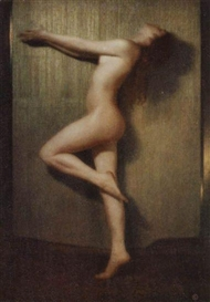 "Artwork by Karl Struss, 24 works from the portfolio ""48 Photographs of the Female Figure, First Series"", Made of Silver prints and four-color photo-mechanical reproductions"