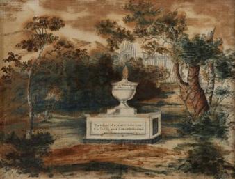 MEMENTO MORI By J. Warner ,Circa  1810