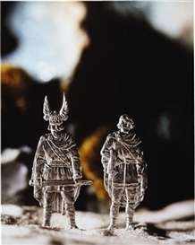 Artwork by David Levinthal, Hagan and Gunther (from the Die Nibelungen series), Made of c-print
