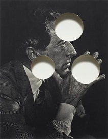 Cerith Wyn Evans, Untitled (Jean Cocteau- Portraits of Greatness)
