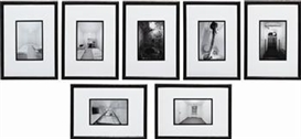 Artwork by Gregor Schneider, Raum ur 20, and 6 more works, Made of gelatin silver prints in artist's frames