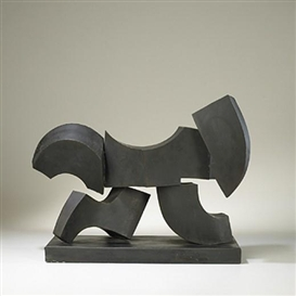 Artwork by Anthony Padovano, untitled (Abstract Sculpture), Made of bronze