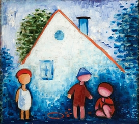 Josef Capek, Children and little house