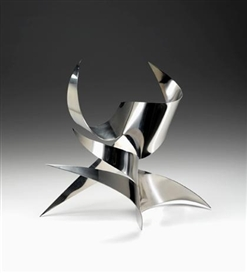 Artwork by Andreu Alfaro, UNTITLED, Made of Cut Stainless steel