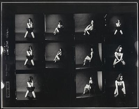 Artwork by Lewis Morley, Christine Keeler, Made of digital photograph
