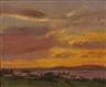 Jeffrey Reed, 2 Works: Orange Horizon; Belmullet Sunset