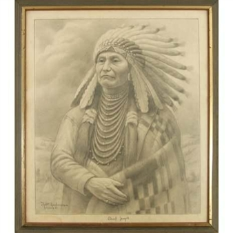 Chief Joseph By Robert Lindneux ,1932