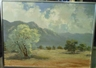 Segundo Huertas Aguiar, Desert landscape with mountains