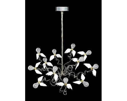 ingo maurer birdie ceiling light 2002 metal. Black Bedroom Furniture Sets. Home Design Ideas