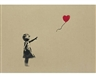 Banksy, Girl and Balloon