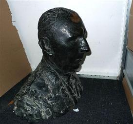 Artwork by Charles Despiau, Portrait de Émile Christophe Barell, Made of bronze