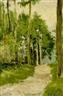 Franz K. Opitz, Forest path