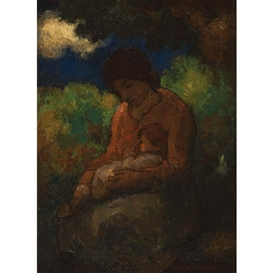 Eugene Higgins, Mother and Child